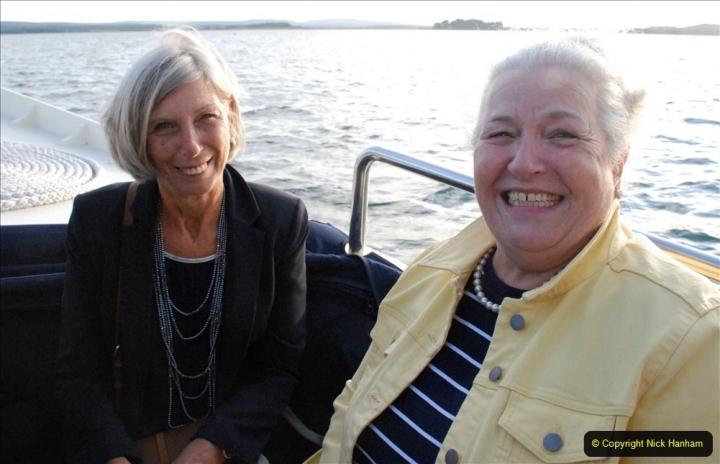 2021-08-14 SR Volunteers & Staff Boat trip & BBQ Poole Harbour & Poole Bay. (50) 050