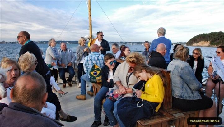2021-08-14 SR Volunteers & Staff Boat trip & BBQ Poole Harbour & Poole Bay. (51) 051