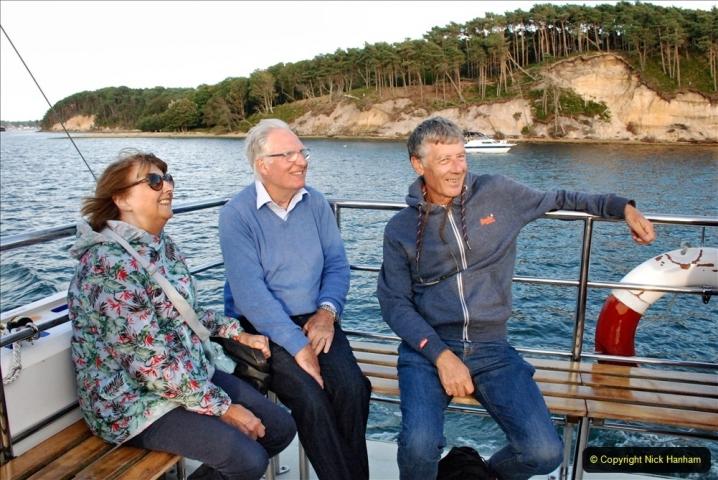 2021-08-14 SR Volunteers & Staff Boat trip & BBQ Poole Harbour & Poole Bay. (52) 052