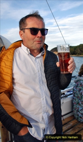 2021-08-14 SR Volunteers & Staff Boat trip & BBQ Poole Harbour & Poole Bay. (53) 053