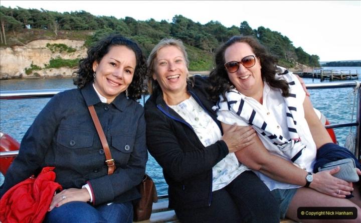 2021-08-14 SR Volunteers & Staff Boat trip & BBQ Poole Harbour & Poole Bay. (54) 054