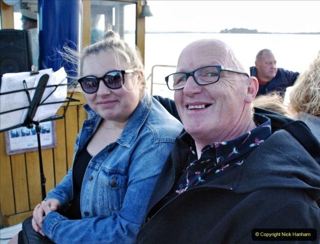 2021-08-14 SR Volunteers & Staff Boat trip & BBQ Poole Harbour & Poole Bay. (55) 055