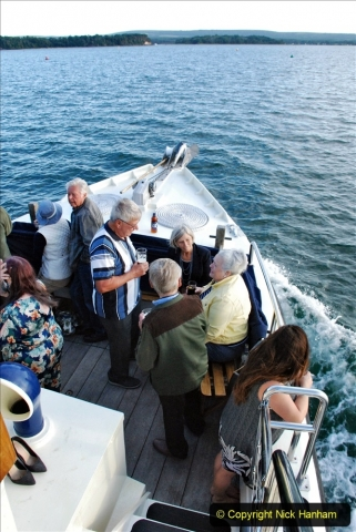 2021-08-14 SR Volunteers & Staff Boat trip & BBQ Poole Harbour & Poole Bay. (56) 056