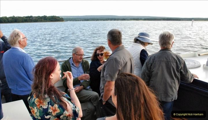 2021-08-14 SR Volunteers & Staff Boat trip & BBQ Poole Harbour & Poole Bay. (58) 058
