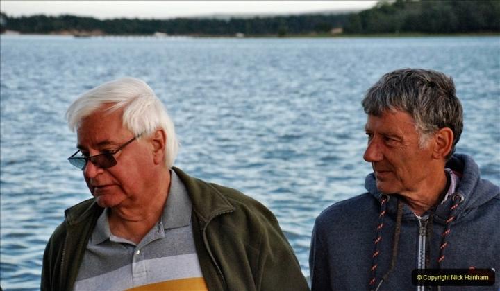 2021-08-14 SR Volunteers & Staff Boat trip & BBQ Poole Harbour & Poole Bay. (59) 059