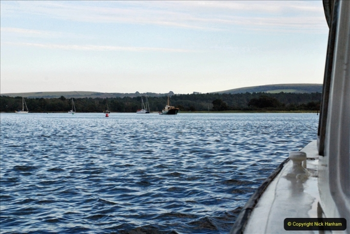 2021-08-14 SR Volunteers & Staff Boat trip & BBQ Poole Harbour & Poole Bay. (60) 060