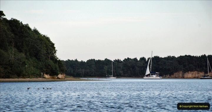 2021-08-14 SR Volunteers & Staff Boat trip & BBQ Poole Harbour & Poole Bay. (62) 062