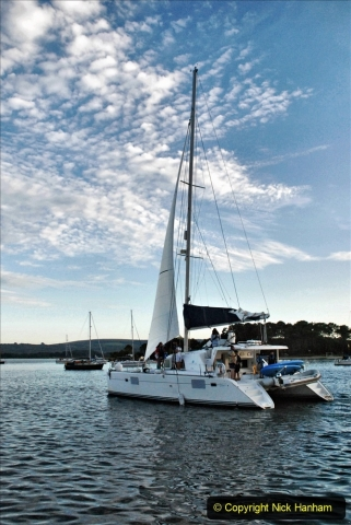 2021-08-14 SR Volunteers & Staff Boat trip & BBQ Poole Harbour & Poole Bay. (63) 063