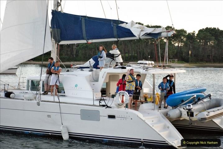 2021-08-14 SR Volunteers & Staff Boat trip & BBQ Poole Harbour & Poole Bay. (64) 064