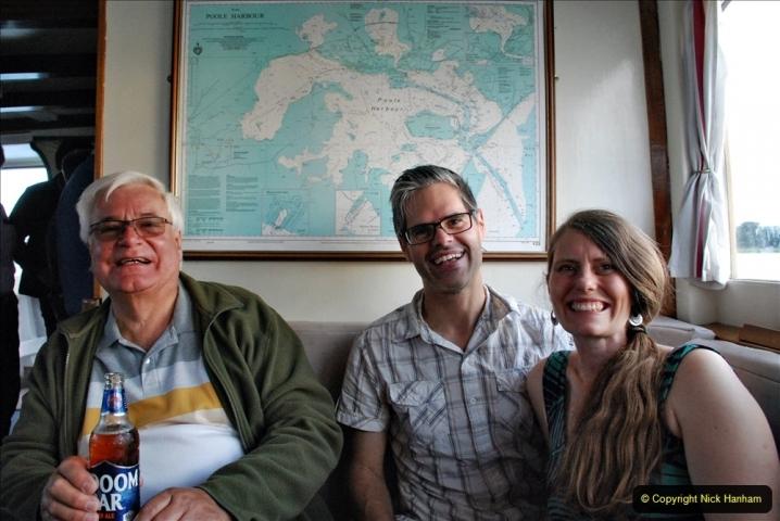 2021-08-14 SR Volunteers & Staff Boat trip & BBQ Poole Harbour & Poole Bay. (65) 065