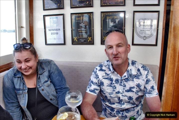 2021-08-14 SR Volunteers & Staff Boat trip & BBQ Poole Harbour & Poole Bay. (66) 066