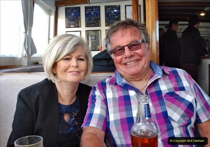 2021-08-14 SR Volunteers & Staff Boat trip & BBQ Poole Harbour & Poole Bay. (69) 069