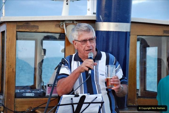 2021-08-14 SR Volunteers & Staff Boat trip & BBQ Poole Harbour & Poole Bay. (72) 072