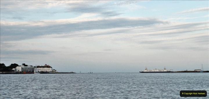 2021-08-14 SR Volunteers & Staff Boat trip & BBQ Poole Harbour & Poole Bay. (75) 075