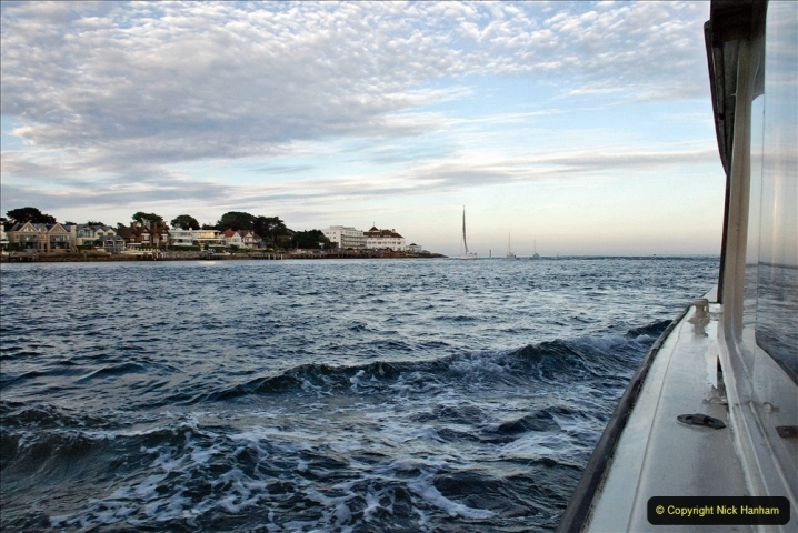 2021-08-14 SR Volunteers & Staff Boat trip & BBQ Poole Harbour & Poole Bay. (77) 077