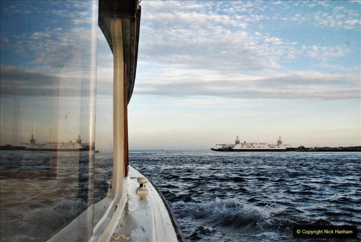 2021-08-14 SR Volunteers & Staff Boat trip & BBQ Poole Harbour & Poole Bay. (79) 079