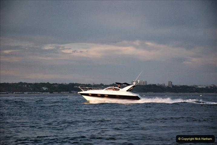 2021-08-14 SR Volunteers & Staff Boat trip & BBQ Poole Harbour & Poole Bay. (85) 085