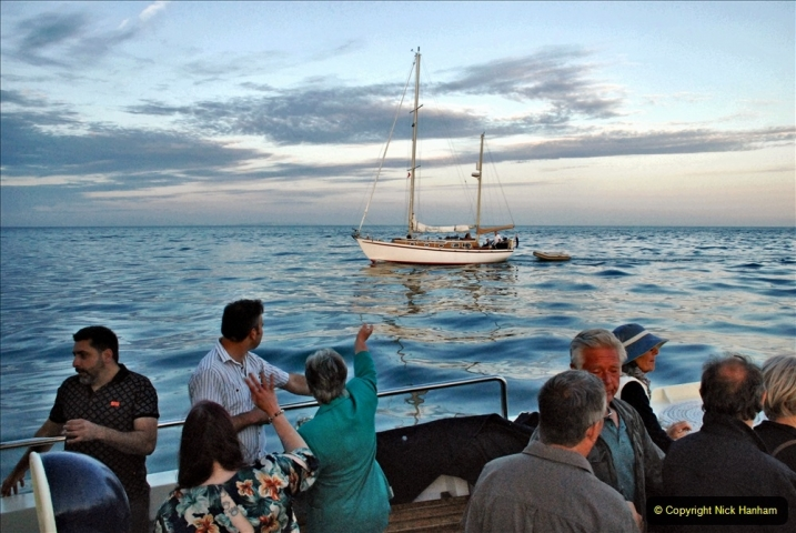 2021-08-14 SR Volunteers & Staff Boat trip & BBQ Poole Harbour & Poole Bay. (95) 095