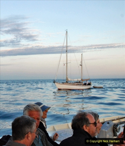 2021-08-14 SR Volunteers & Staff Boat trip & BBQ Poole Harbour & Poole Bay. (96) 096