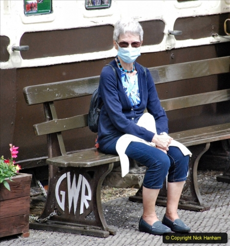 2021-08-18 & 19 Chinnor & Princes Risborough Railway, Oxfordshire. (136) Your Host's wife. 137