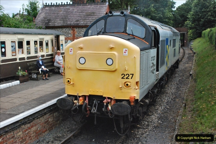 2021-08-18 & 19 Chinnor & Princes Risborough Railway, Oxfordshire. (140) 141