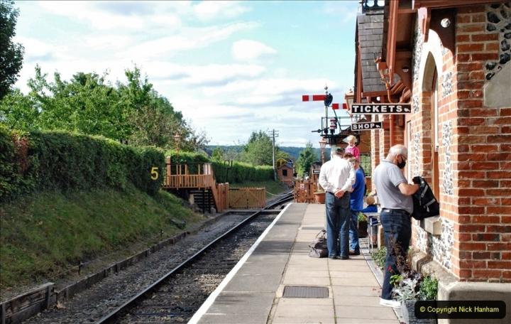 2021-08-18 & 19 Chinnor & Princes Risborough Railway, Oxfordshire. (32) 033