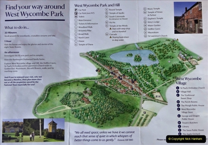 2021-08-19 National Trust Property Visit No.2. West Wycombe Park & Town. (2) 002