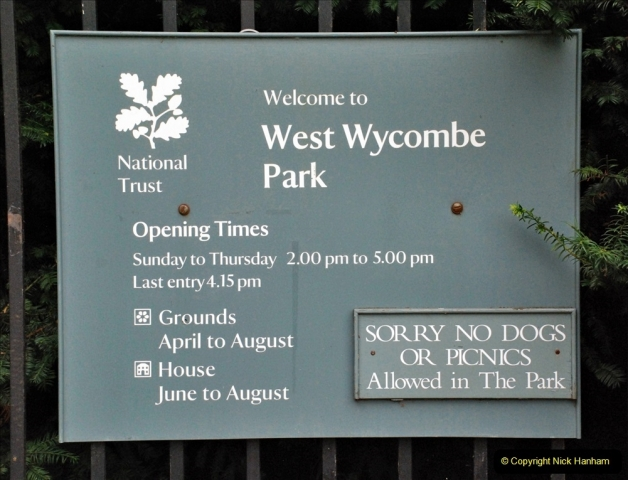 2021-08-19 National Trust Property Visit No.2. West Wycombe Park & Town. (6) 006