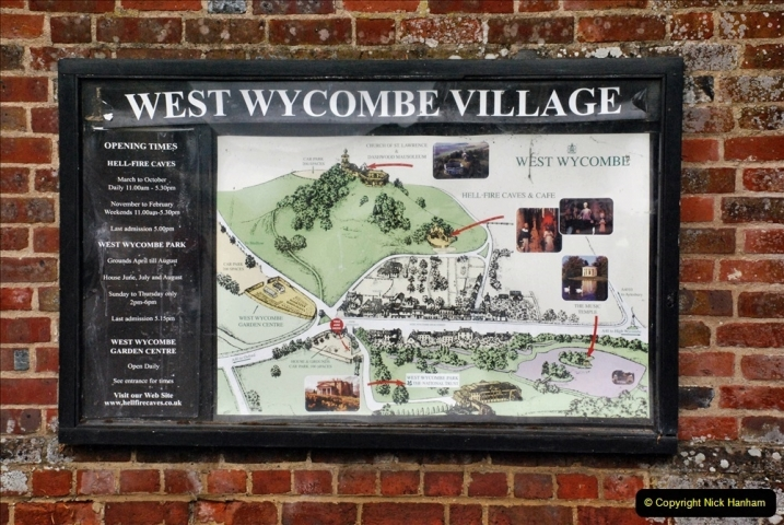 2021-08-19 National Trust Property Visit No.2. West Wycombe Park & Town. (77) 077