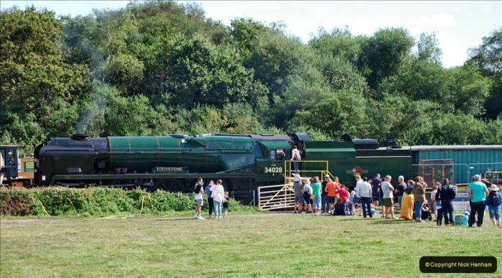 2021 August 28 SR Roads to Rail Bank Holiday Weekend. (157) 157