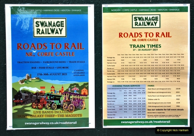 2021 August 28 SR Roads to Rail Bank Holiday Weekend. (44) 044