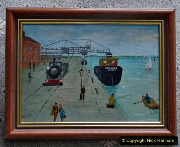Pictures. (62) Poole Quay painted by a dear friend for me. 062