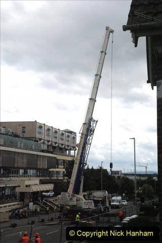 2021-07-30 Poole Hospital Crane Operation. (13) 013