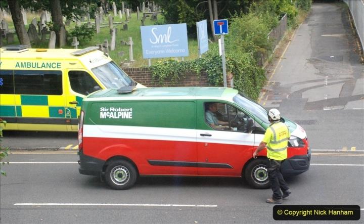 2021-07-30 Poole Hospital Crane Operation. (34) 034