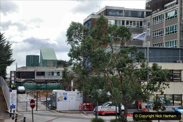 2021-07-30 Poole Hospital Crane Operation. (7) 007