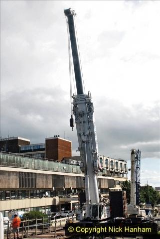 2021-07-30 Poole Hospital Crane Operation. (72) 072