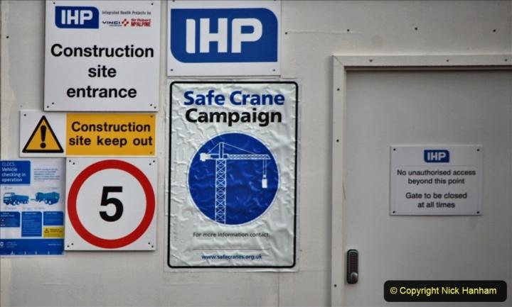 2021-07-31 Poole Hospital Crane Operation. (103) 103