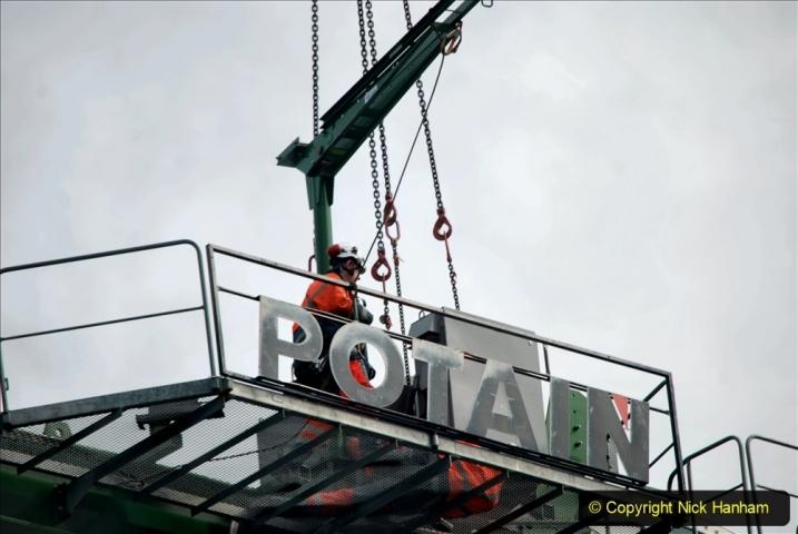 2021-07-31 Poole Hospital Crane Operation. (111) 111