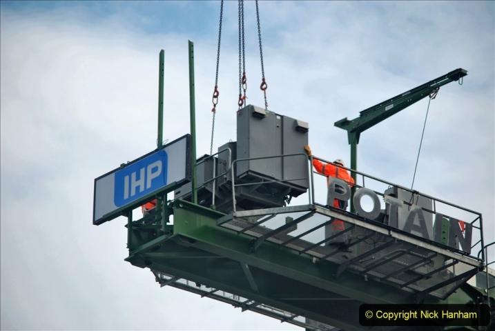 2021-07-31 Poole Hospital Crane Operation. (113) 113