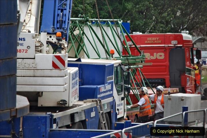 2021-07-31 Poole Hospital Crane Operation. (118) 118
