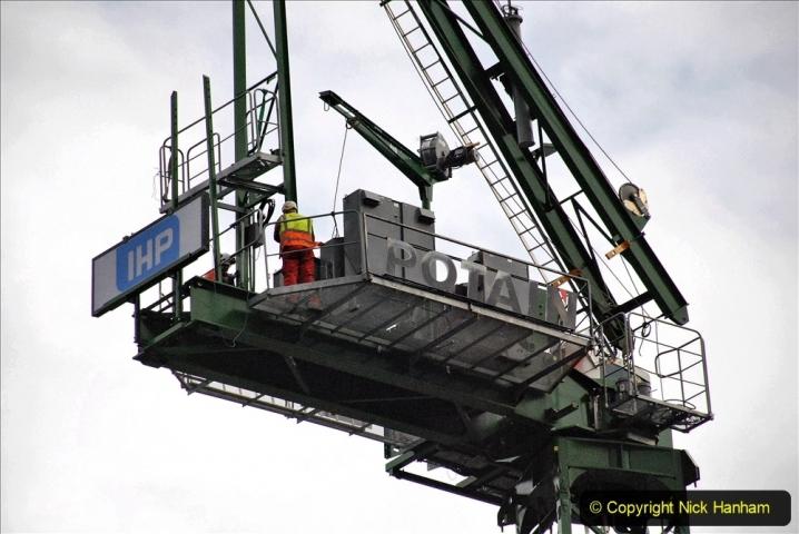 2021-07-31 Poole Hospital Crane Operation. (124) 124