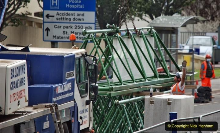 2021-07-31 Poole Hospital Crane Operation. (126) 126