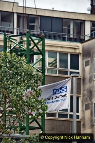 2021-07-31 Poole Hospital Crane Operation. (16) 016