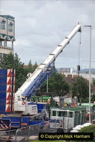 2021-07-31 Poole Hospital Crane Operation. (2) 002