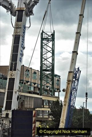 2021-07-31 Poole Hospital Crane Operation. (23) 023