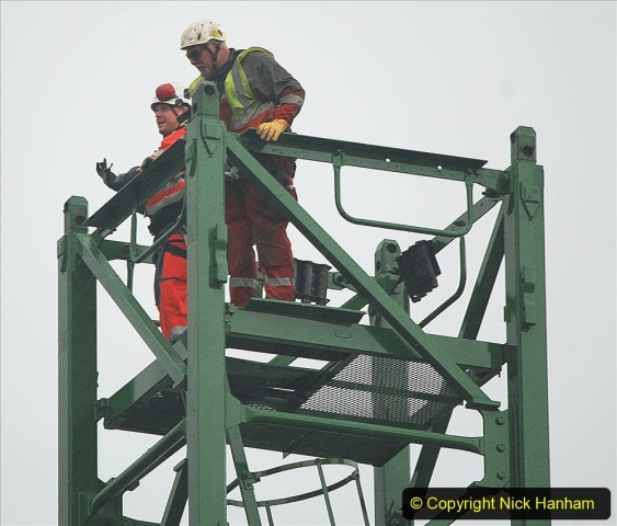 2021-07-31 Poole Hospital Crane Operation. (28) 028