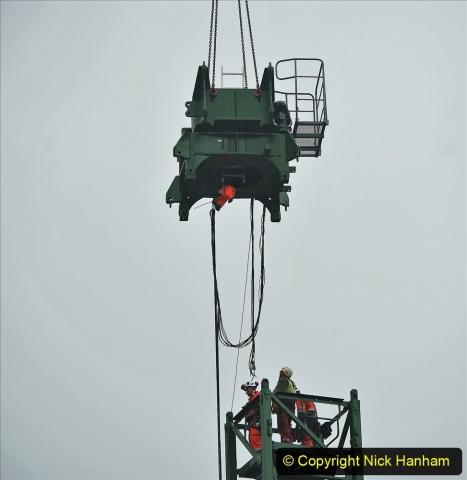 2021-07-31 Poole Hospital Crane Operation. (30) 030