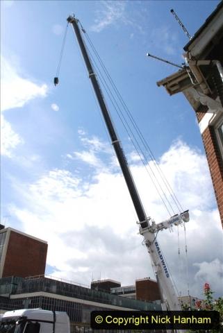 2021-07-31 Poole Hospital Crane Operation. (5) 005