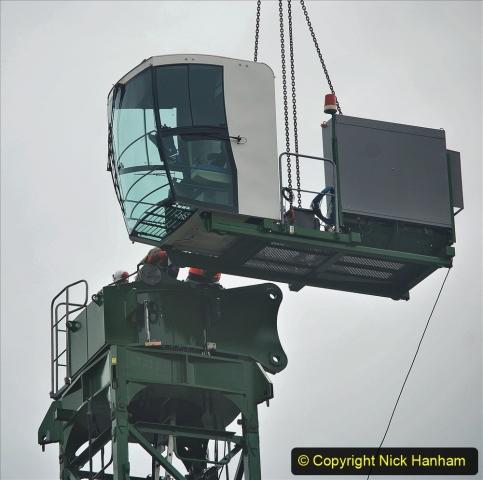 2021-07-31 Poole Hospital Crane Operation. (53) 053