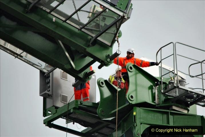 2021-07-31 Poole Hospital Crane Operation. (67) 067